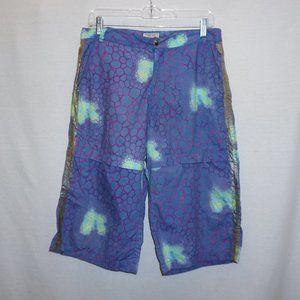 VTG VERSACE Sport abstract purple board shorts